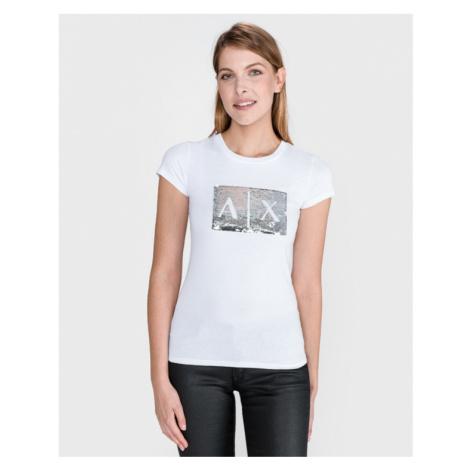 Armani Exchange T-Shirt Weiß