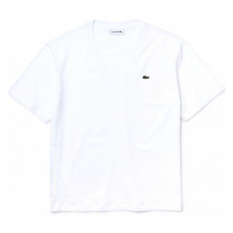 Lacoste WOMENS TEE SHIRT weiß - Damenshirt