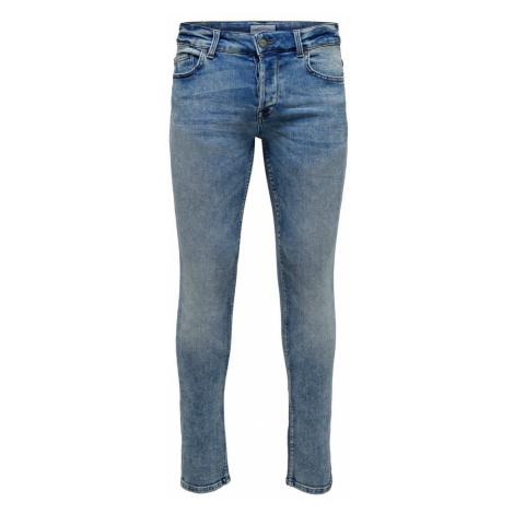 ONLY & SONS Onsloom Slim Fit Jeans Herren Blau