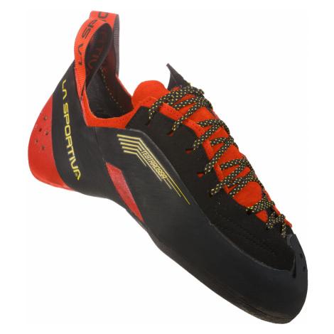 La Sportiva Testarossa Men Herren Kletterschuhe red/black,schwarz / rot