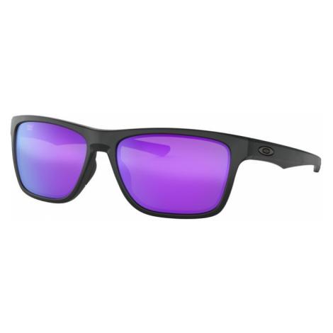 Sonnen Brille OAKLEY Holston Matte Black w/ Violet Irid OO9334-0958
