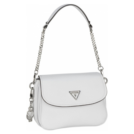 Guess Handtasche Destiny VG Shoulder Bag White (2.9 Liter)