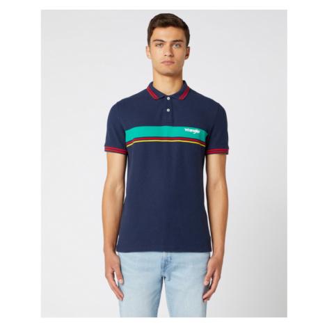Wrangler Poloshirt Blau