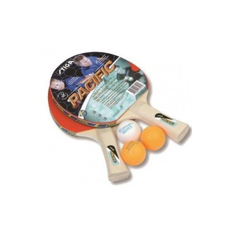 Stiga SET PACIFIC rot - Tischtennisset