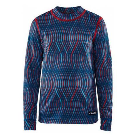 T-Shirt CRAFTMix and Match JR 1904518-3117 - blue Druck