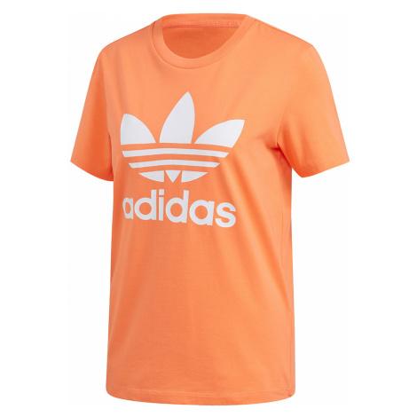Adidas Originals T-Shirt Damen TREFOIL TEE FM3295 Semcor/White