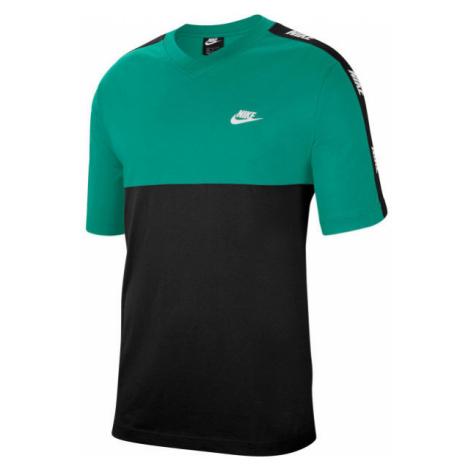 Nike NSW CE TOP SS HYBRID M grün - Herrenshirt