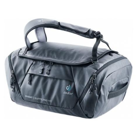 Reisen Tasche Deuter Aviant Duffel Pro 40 Black