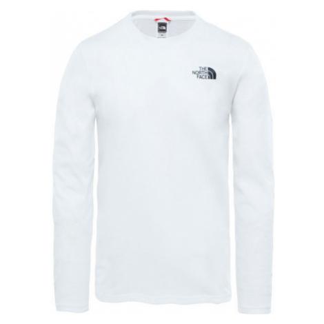 The North Face L/S EASY TEE weiß - Herren Shirt