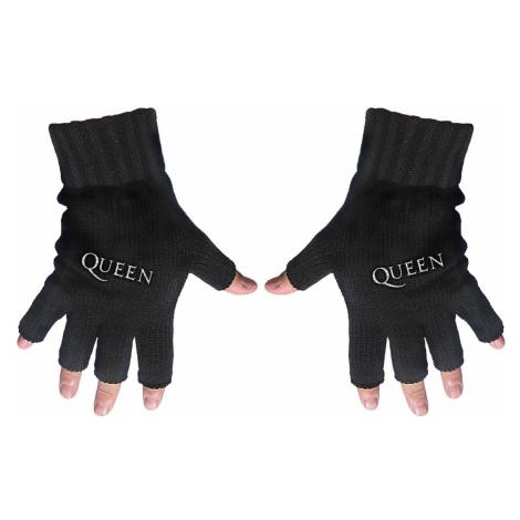 Fingerlose Handschuhe Queen - Logo - RAZAMATAZ - FG062