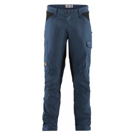 Fjällräven Kaipak Trousers M Regular Herren Wanderhose dunkelblau-grau