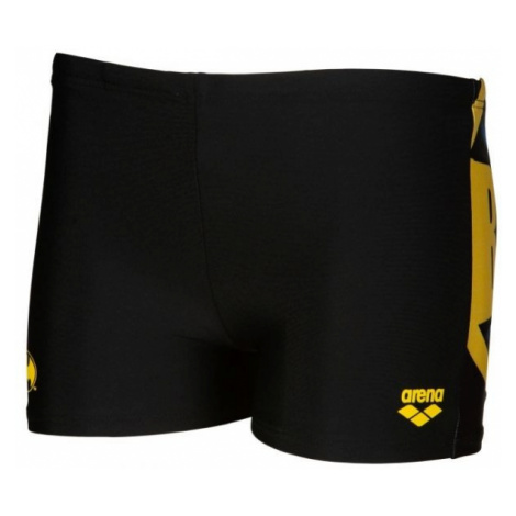Arena BATMAN PLACED PRINT JR SHORT - Badehose für Jungs