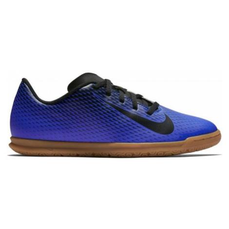 Nike JR BRAVATA IC dunkelblau - Kinder Hallenschuhe