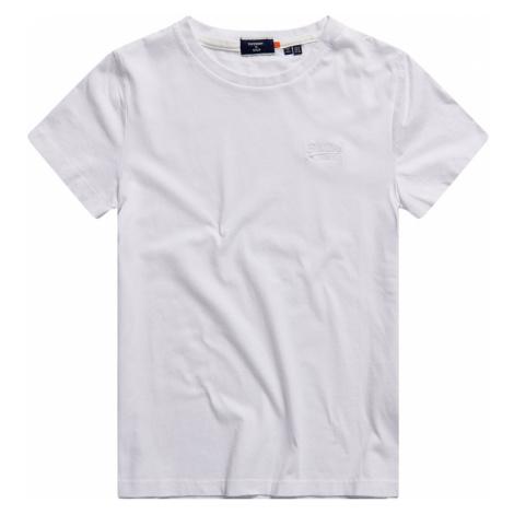 Superdry Damen T-Shirt OL CLASSIC TEE Optic Weiß