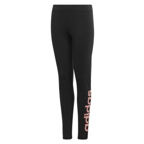 adidas YG E LIN TGHT schwarz - Mädchen Leggings