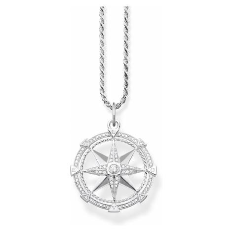Thomas Sabo KE1850-051-14-L45 Damen-Halskette Kompass