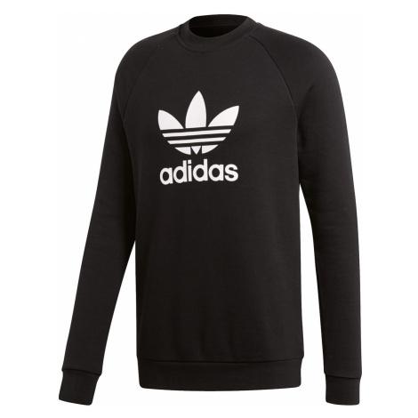 Adidas Originals Sweatshirt Herren TREFOIL CREW CW1235 Schwarz