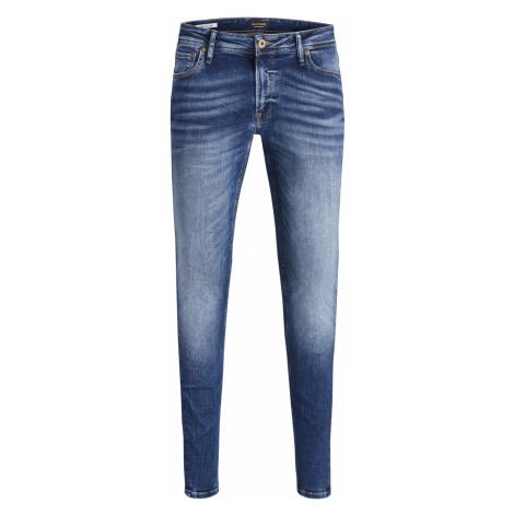 Jack & Jones Herren Jeans Jjitom Jjoriginal Jos 510 50Sps - Skinny Fit - Blau - Blue Denim