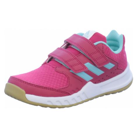 Unisex Adidas Mädchen Sportschuhe lila/pink Forta Gym