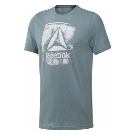 Reebok GS STAMPED LOGO CREW grün - Herren Shirt