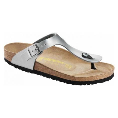 Birkenstock GIZEH grau - Pantoffeln für Damen