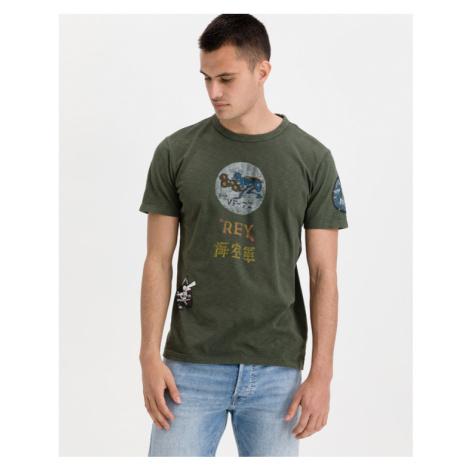Replay T-Shirt Grün