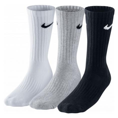 Nike 3PPK VALUE COTTON CREW grau - Sportsocken