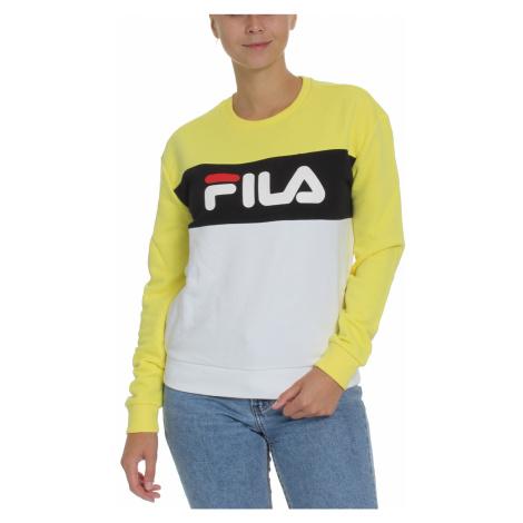 Fila Sweater Damen LEAH CREW SWEAT 687043 Mehrfarbig A477 Sea Spray Light Grey Melange Bros Brig