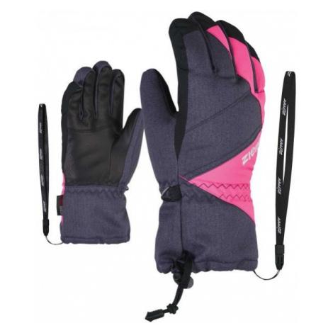 Ziener AGIL AS JR grau - Handschuhe für Kinder