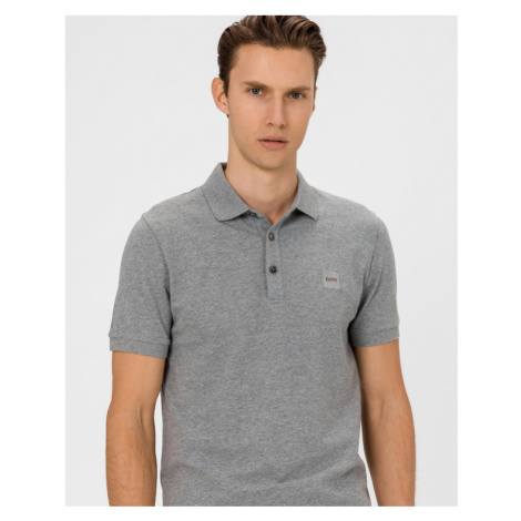 BOSS Passenger Polo T-Shirt Grau Hugo Boss