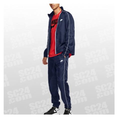 Nike Sportswear Woven Tracksuit blau/weiss Größe M