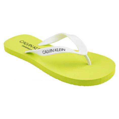 Calvin Klein FF SANDALS gelb - Herren Zehentrenner