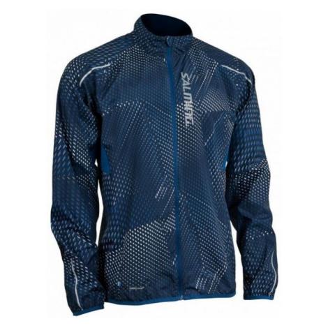 Jacke Salming Ultralite Jacket 3.0 Men Poseidon All Over Print