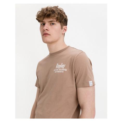 Replay Blue Jeans T-Shirt Braun