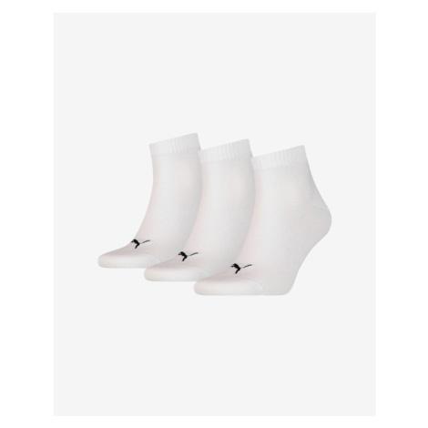 Puma 3 Paar Socken Weiß