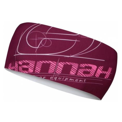 Stirnband HANNAH Jaden kabarett (Pink)