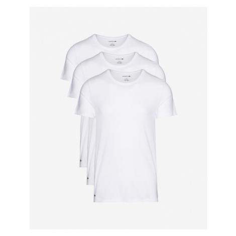 Lacoste Unter T-Shirt 3 St. Weiß