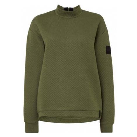 O'Neill LW ARALIA QUILTED CREW dunkelgrün - Damen Sweatshirt