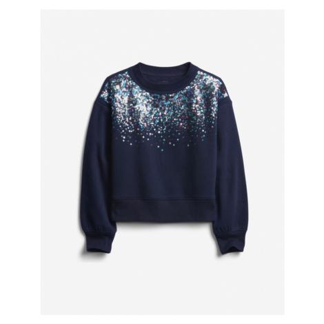 GAP Sweatshirt Kinder Blau