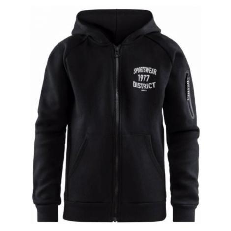 Sweatshirt CRAFT District Hood Zip 1907215-999000