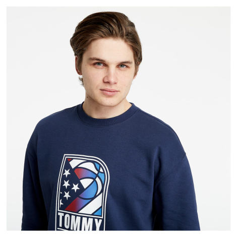Tommy Jeans Basketball Crew Navy Tommy Hilfiger