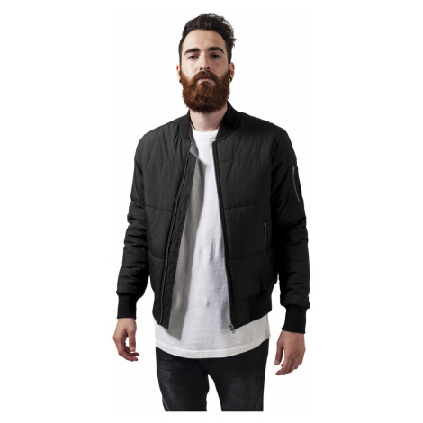 Urban Classics Herren Jacke Basic Quilt Bomber