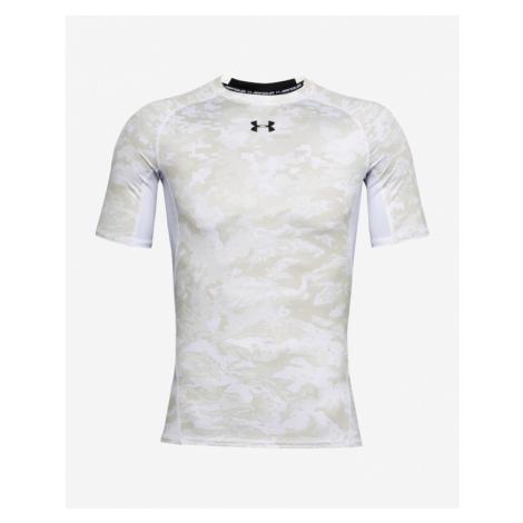 Under Armour HeatGear® T-Shirt Weiß Grau