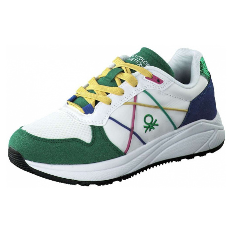 United Colors Of Benetton Ascent Sneaker Damen weiß