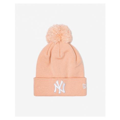 New Era New York Yankees Strickmütze Orange