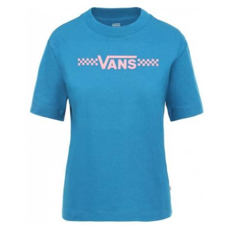 Vans WM FUNNIER TIMES BOXY blau - Damen Shirt