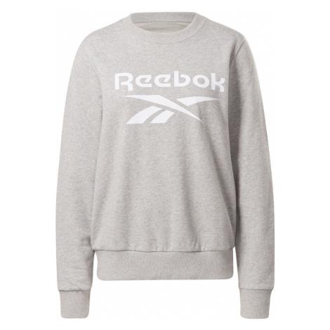 Ripped Big Logo French Terry Sweatshirt Reebok