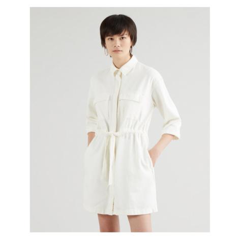 Levi's® Ainsley Utility Kleid Weiß Levi´s