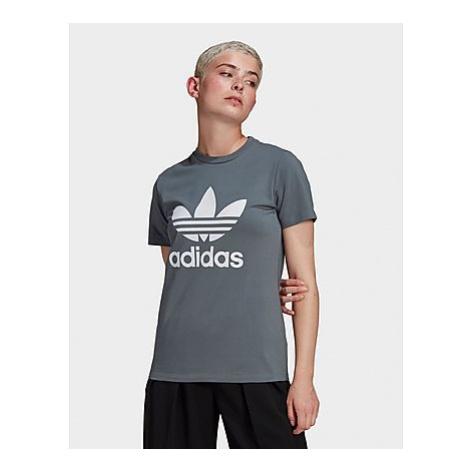 Adidas Originals Adicolor Classics Trefoil T-Shirt - Blue Oxide - Damen, Blue Oxide