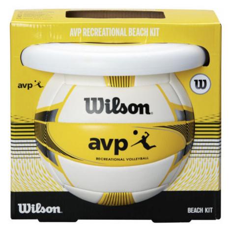 Wilson AVP BEACH KIT W/DISK YEL - Strandset